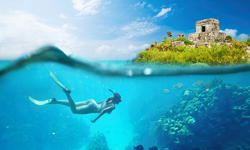 Paquete Riviera Maya + Cozumel