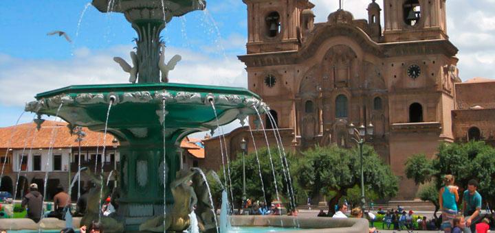 lugares turísticos de Cusco la plaza de Armas