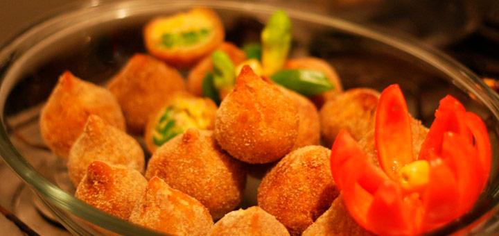 coxinha plato tipico