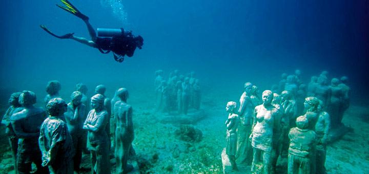 mejores lugares en cancun museo subacuatico de arte