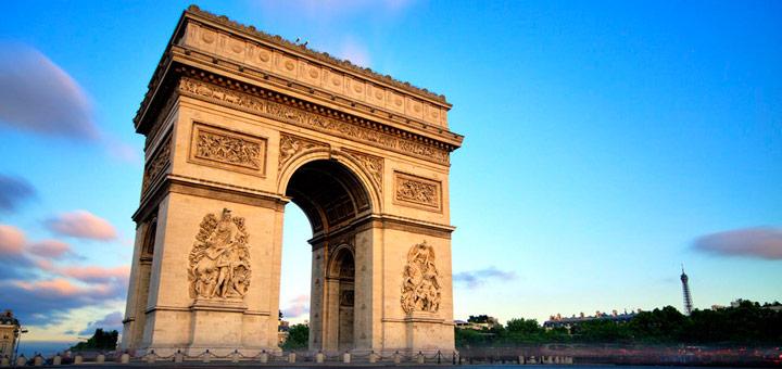 atracciones turisticas paris arco del triunfo