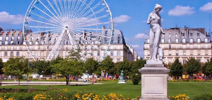 atracciones turisticas paris jardin tullerias