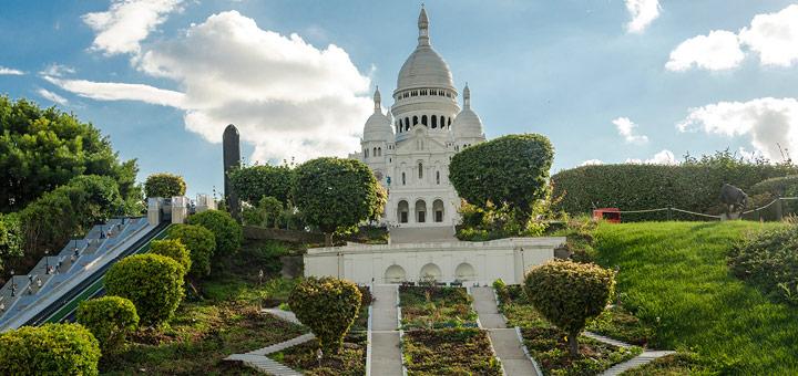 atracciones turisticas paris basilica montmartre