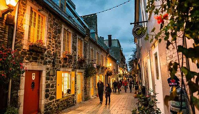 Paquete Quebec Canada