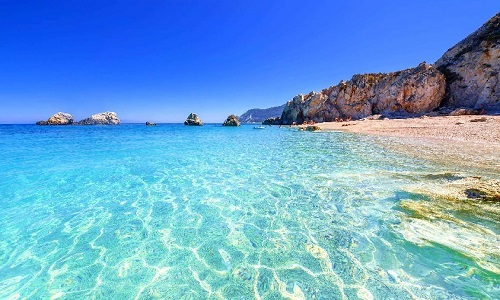 beautiful Archipelago in Greece