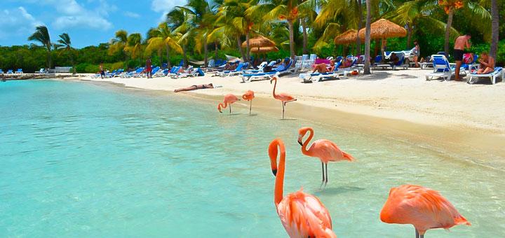 Mejores lugares para vacacionar Caribe Aruba